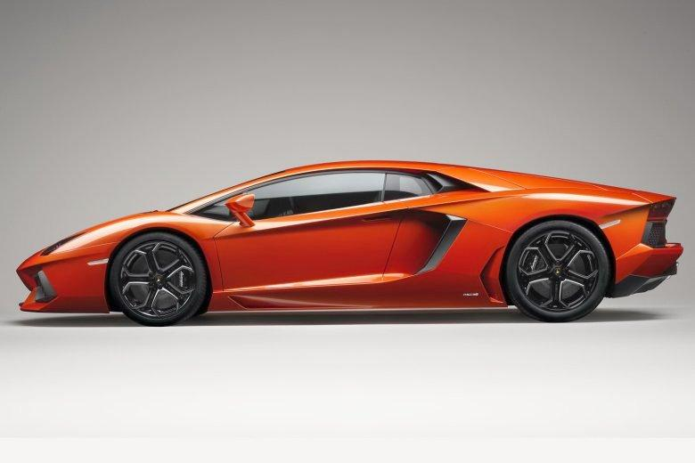 Left Side 2012 Lamborghini Aventador Car Photo