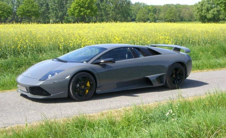 Left Side Gray EDO Lamborghini Murcielago LP640 Car Picture