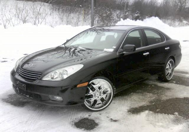 Front Left Black 2002 Lexus ES 300 Car Picture