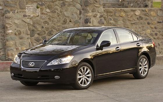 2008 black lexus es350 front left car picture pictures. Black Bedroom Furniture Sets. Home Design Ideas