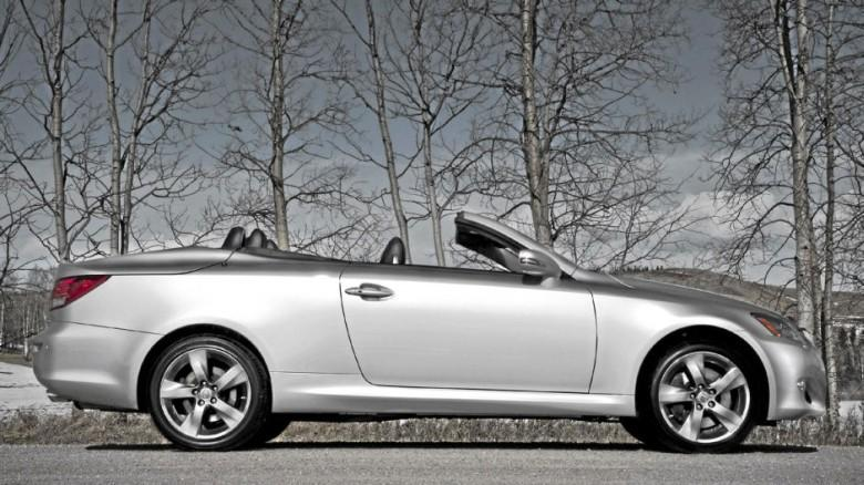 Right Side 2010 Lexus IS-250C Car Picture