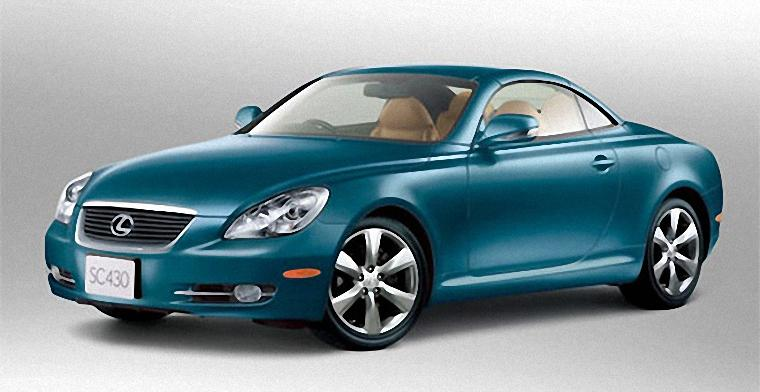 Front Left 2010 Lexus SC430 Car Picture