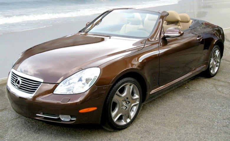 Top Left Lexus SC 430 Car Picture
