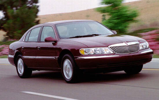 1995 Lincoln Continental Car Picture