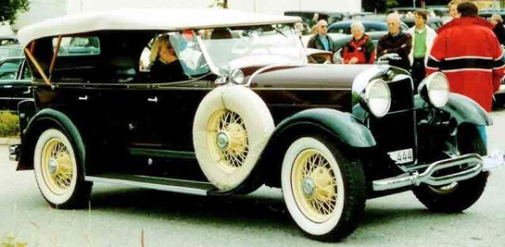 1929 Lincoln Model L Touring Car Picture