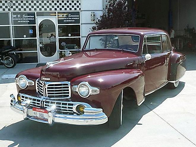 1948 Lincoln Continental V12 Car Picture