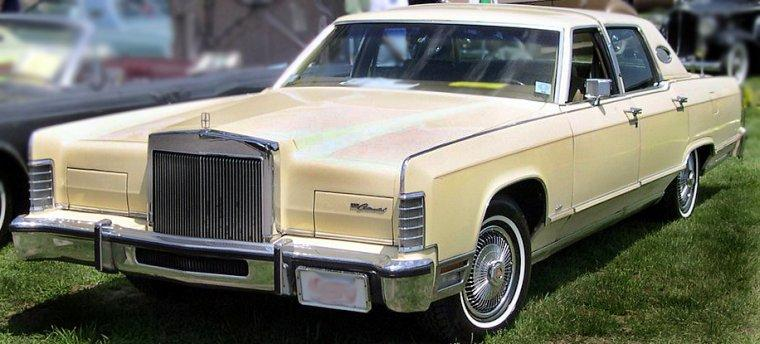 1978 Lincoln Town Car Car Picture