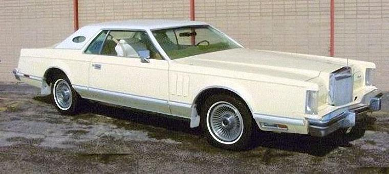 Front Right 1979 Lincoln Continental Mark V Car Photo
