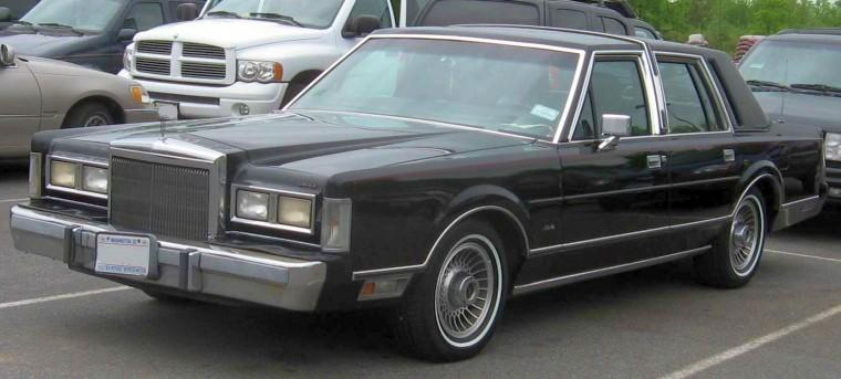1985 lincoln continental black town car photo lincoln pictures. Black Bedroom Furniture Sets. Home Design Ideas