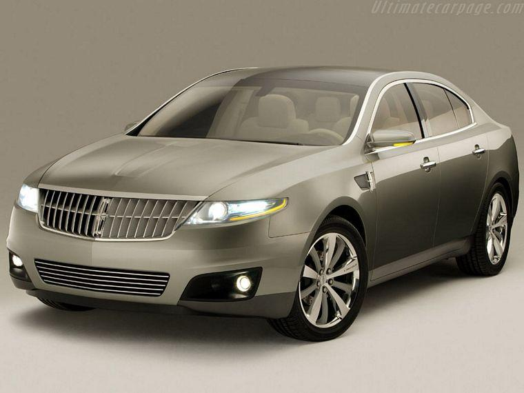 Front left Gray 2006 Lincoln MK S Concept Car Picture