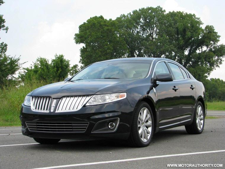 Front Left 2009 Lincoln MKS Sedan Car Picture
