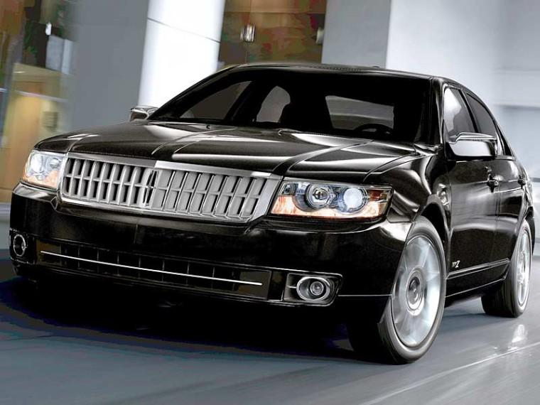Front Left Black 2009 Lincoln MKZ Car Picture