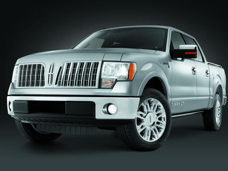 Front Left 2010 Lincoln Mark LT Truck Picture