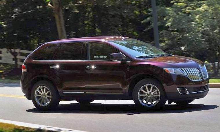 Right Side 2011 Lincoln MKX 2 SUV Picture