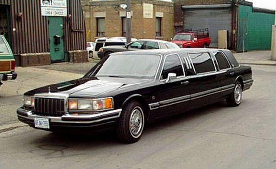 1990 Lincoln Limousine Car picture