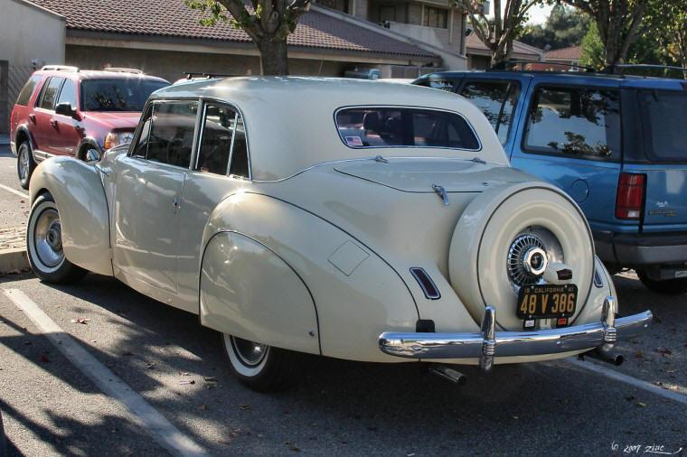 1941 Lincoln Continental Car Picture