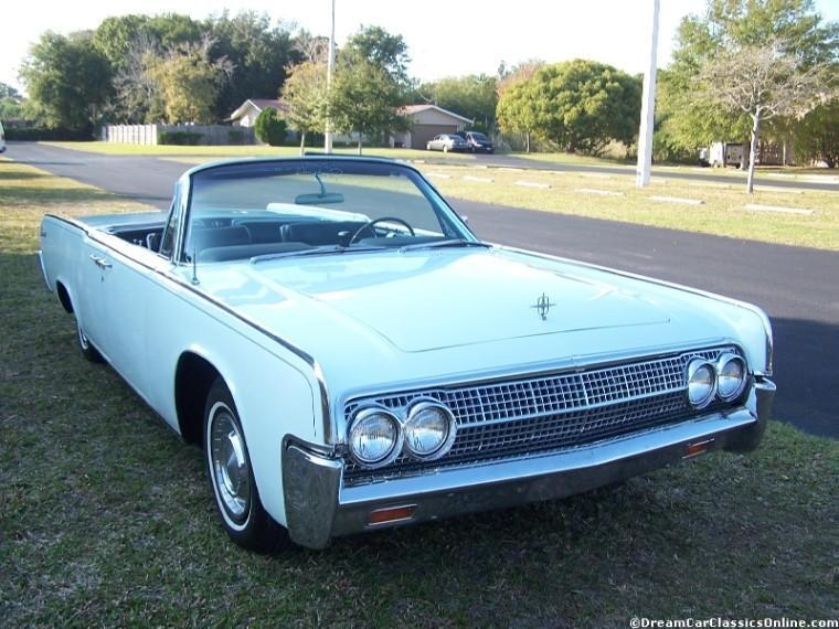 1963 Lincoln Continental Car Picture