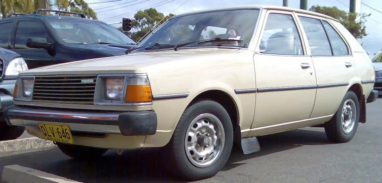 Front Left 1980 Mazda 323 Car Picture