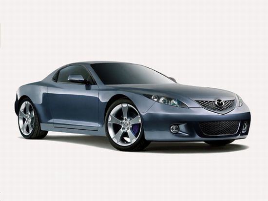 Front Right Blue Mazda RX-9 Car Picture