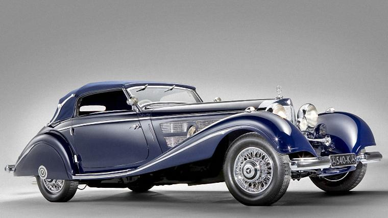 1937 Mercedes-Benz 540K Cabriolet Car Picture
