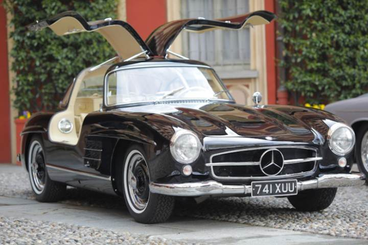 1954 black mercedes benz 300sl gull wing photo old car for 1954 mercedes benz 300sl