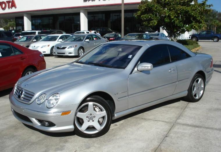 2003 Mercedes-Benz CL55 AMG Car Picture