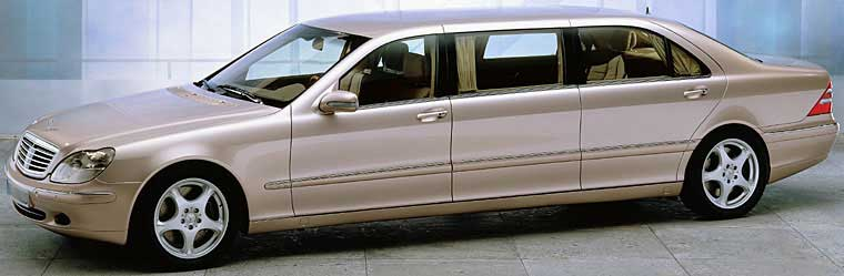 2006 Mercedes-Benz S 600 Limousine Car Picture