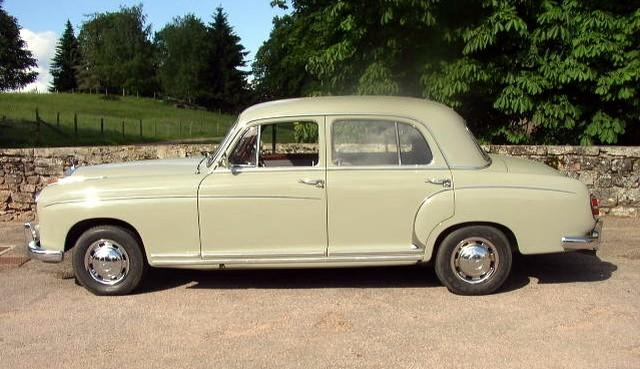 1959 Mercedes-Benz 220S Berline Car Picture