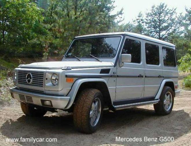 2002 Mercedes-Benz G500 SUV Picture