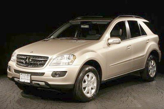 2006 Mercedes Benz Ml350 Front Left Car Photo Pictures