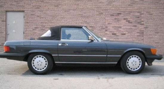 1986 Mercedes-Benz 560SL Car Picture