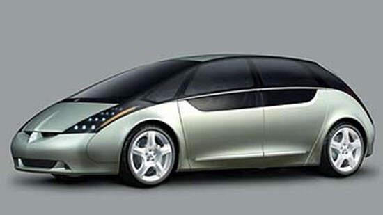 Mitsubishi Space Liner Concept Car Picture