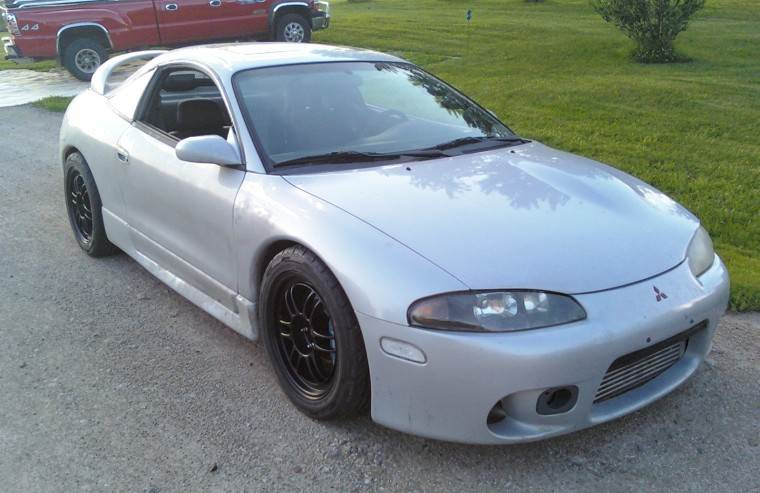 Front Right 1999 Mitsubishi Eclipse Car Picture