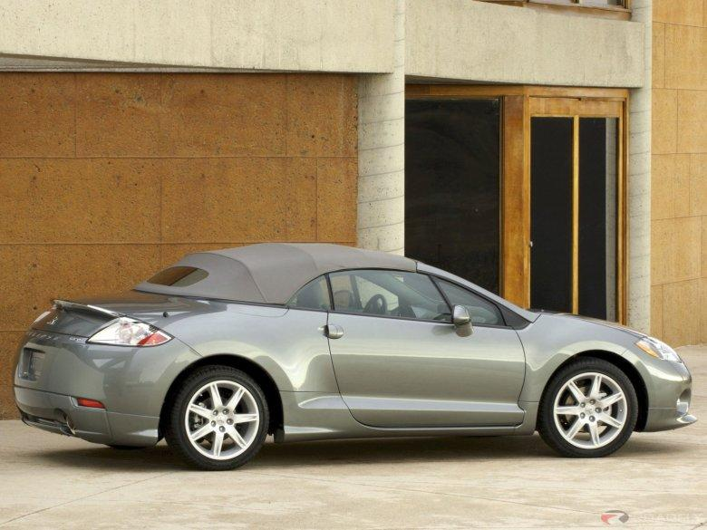 right side 2007 mitsubishi eclipse spyder car picture