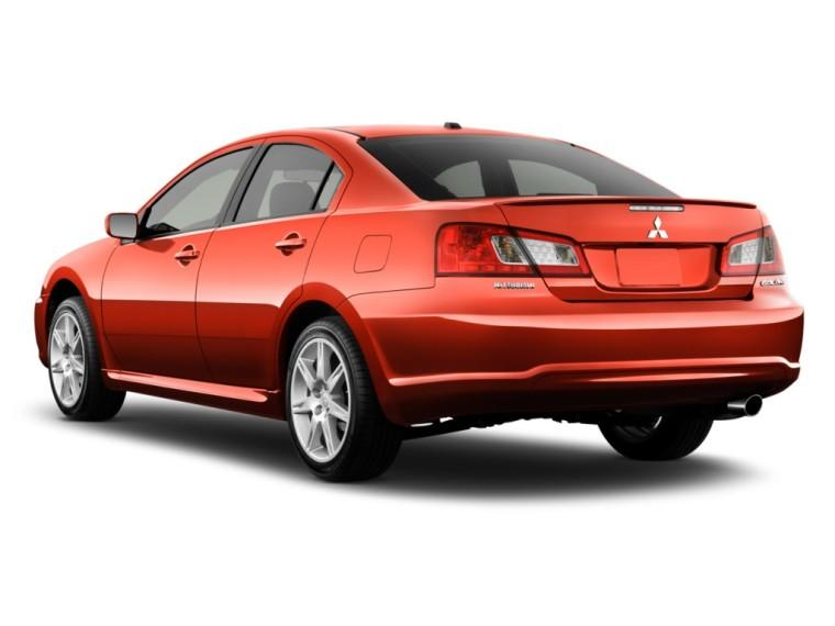 Rear Left Side Red 2011 Mitsubishi Galant ES Car Picture