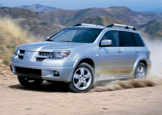 silver 2006 mitsubishi outlander suv photo mitsubishi. Black Bedroom Furniture Sets. Home Design Ideas