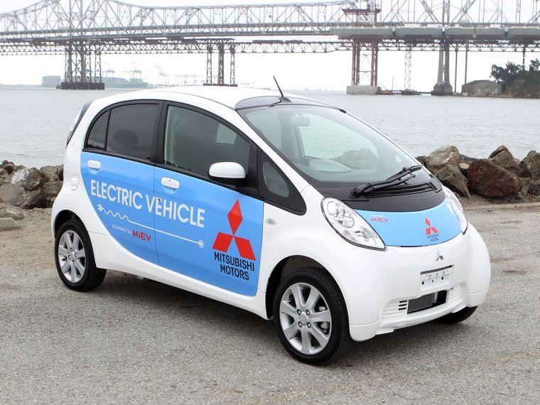 Mitsubishi i-Miev Electric Car Picture