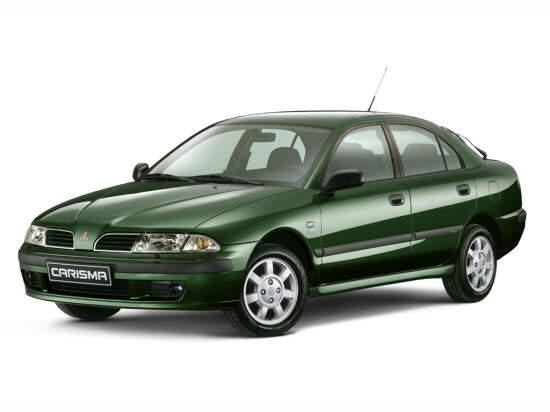 Front left Green Mitsubishi Carisma Car Picture