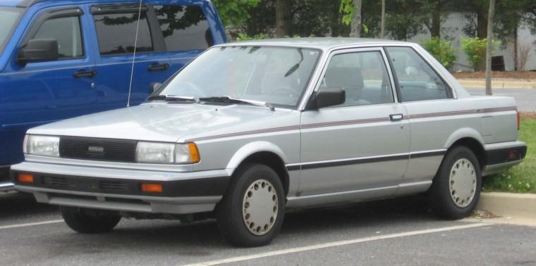 Front Left Silver 1988 Nissan Sentra Car Picture