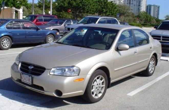 2000 Nissan Maxima Front left Side Car Picture