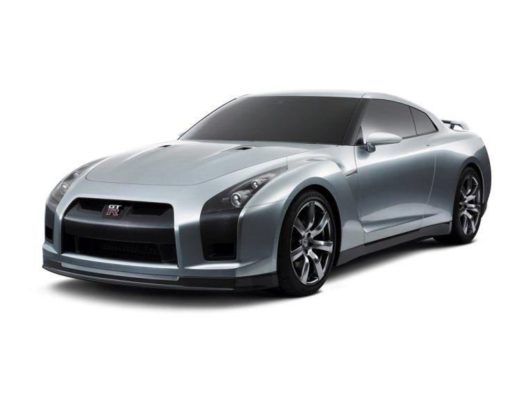 2005 Nissan GTR Front left Side Concept Car Picture