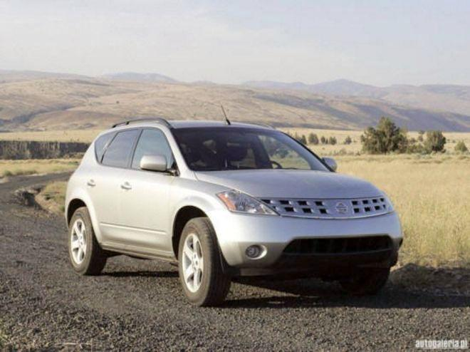 2005 Nissan Murano Front Right Side Car Picture