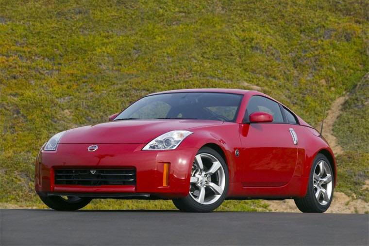2007 Nissan 350Z Front left Side Car Picture