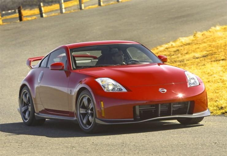Front Right Red 2008 Nismo 350Z Car Picture