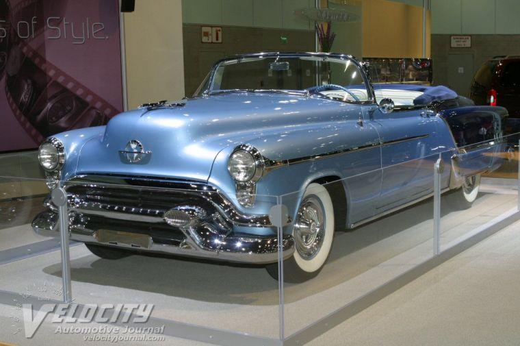 1953 Oldsmobile<br />Ninety Eight Fiesta Car Picture