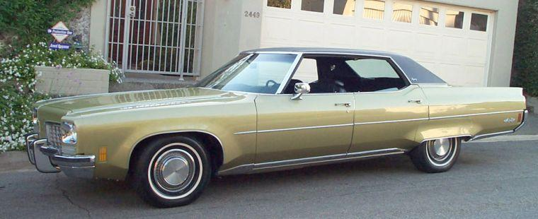1972 Oldsmobile Ninety Eight Regency Car Picture