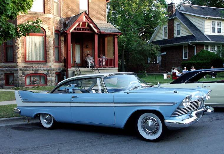 Right Side 1958 Plymouth Belvedere Car Picture