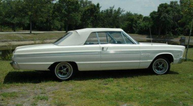 1965 Plymouth Sport Fury Car Picture