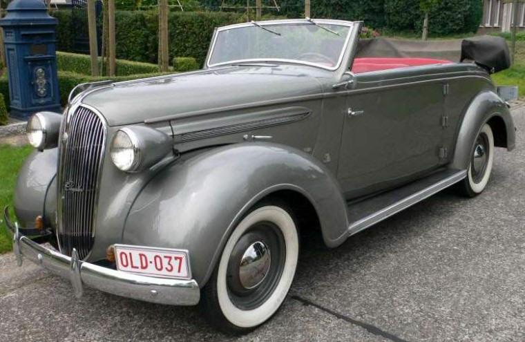1937 Plymouth P4 Car Picture