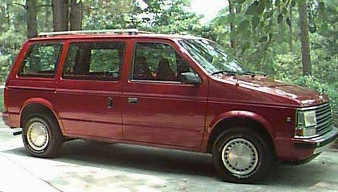 1990 Plymouth Voyager Van Picture